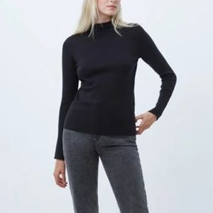 French Connection Babysoft high neck jumper S NWT